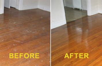 Wood Floor Restoration #3. Deep Clean ...